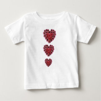 Three hearts shirts