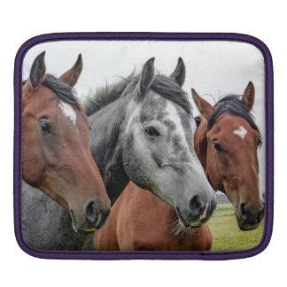 Three Horses iPad Sleeve