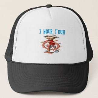 Three Hour Tour Trucker Hat
