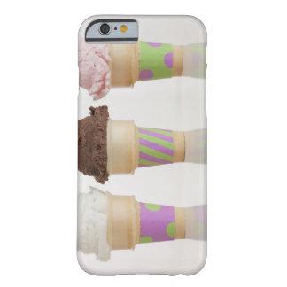 Three ice cream cones iPhone 6 case