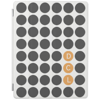 Three Initial Dotted iPad Smart Cover