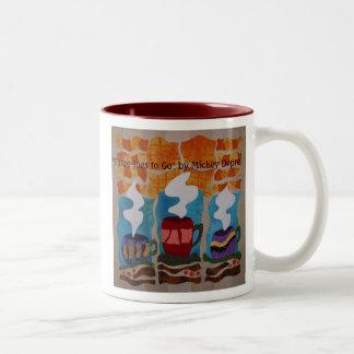 """Three Joes to Go"" Coffee Mug"
