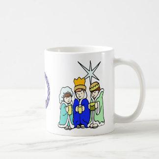 Three Kids as Wise Men and a Monogram Coffee Mug
