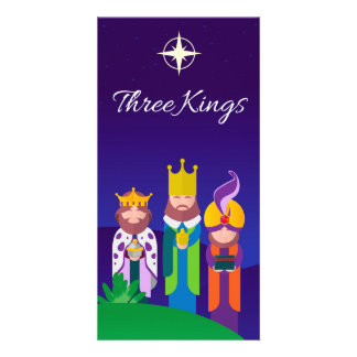 Three Kings Card