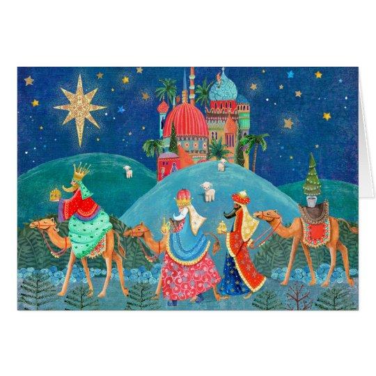 Three Kings   Christmas Holiday   Greetings Cards