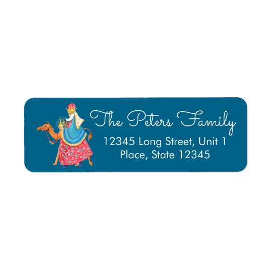 Three Kings | Holiday Christmas | Address Labels