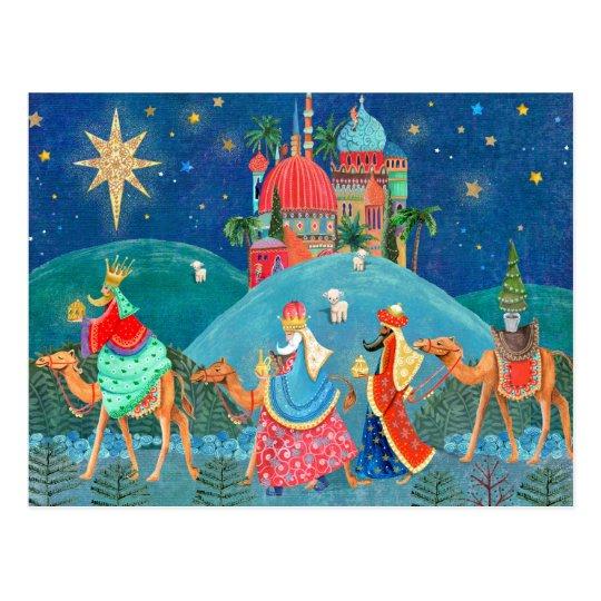 Three Kings | Holiday Post Card