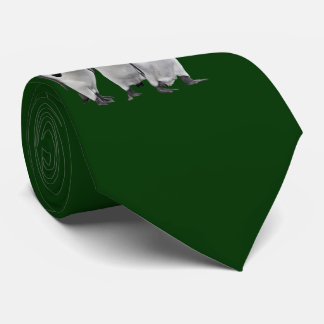 Three Kings Tie Double Sided (Dark Green)