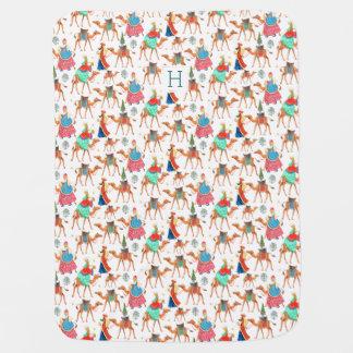 Three Kings Winter | Baby Stroller Blanket