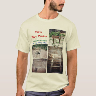 Three Kiva Pueblo T-Shirt