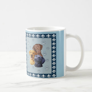 Three labs Coffee Mug