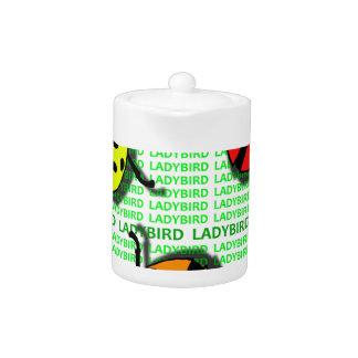 Three Ladybirds