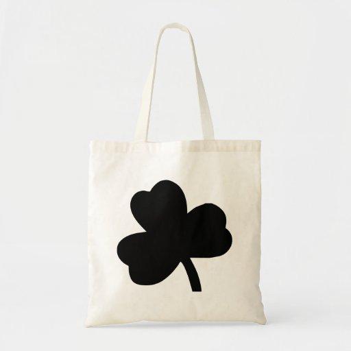Three-Leaf Clover Tote Bag