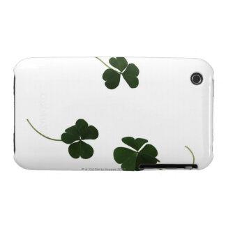 Three-leaf clover iPhone 3 Case-Mate case