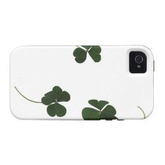 Three-leaf clover Case-Mate iPhone 4 cases