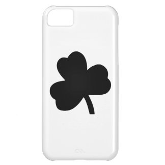Three-Leaf Clover Cover For iPhone 5C