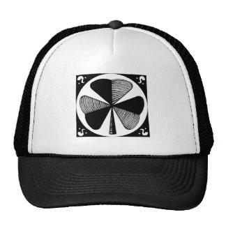 Three Leaf Clover Mesh Hats