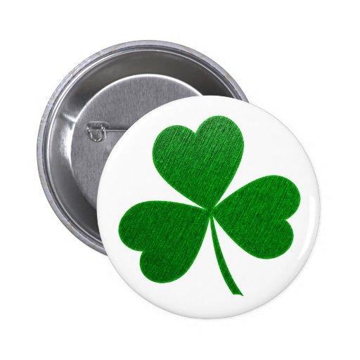 Three Leaf Clover -holiday- Button