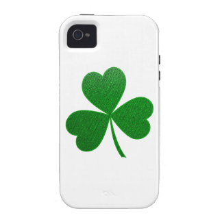Three Leaf Clover -holiday- Case-Mate iPhone 4 Case