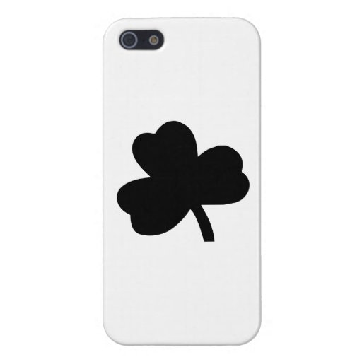 Three-Leaf Clover Covers For iPhone 5