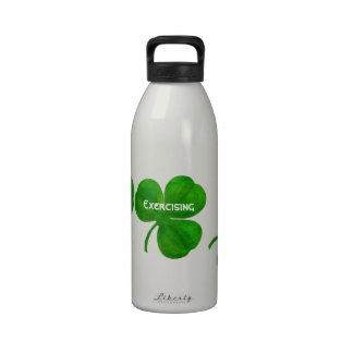 Three Leaf Clover Lucky Me Liberty Bottle Water Bottles