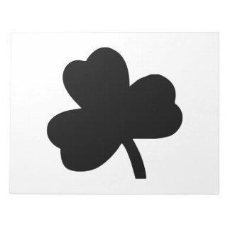 Three-Leaf Clover Note Pad