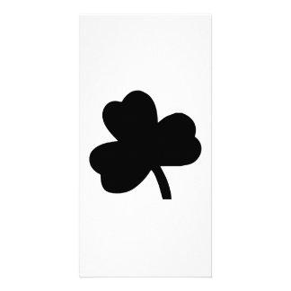 Three-Leaf Clover Photo Card
