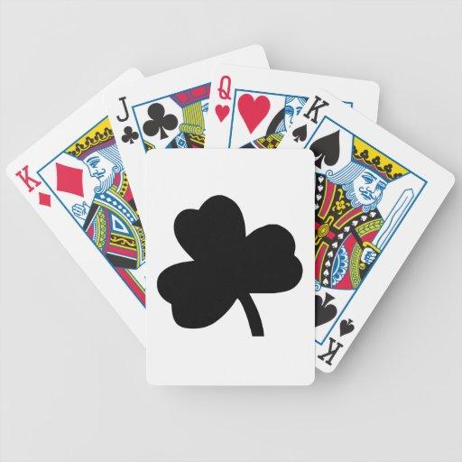 Three-Leaf Clover Card Decks