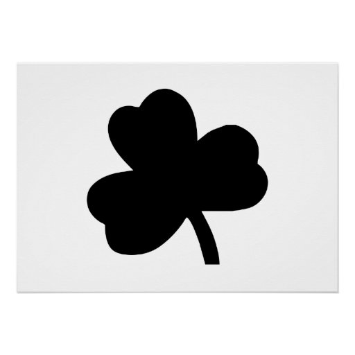Three-Leaf Clover Posters