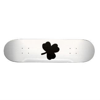 Three-Leaf Clover Custom Skateboard