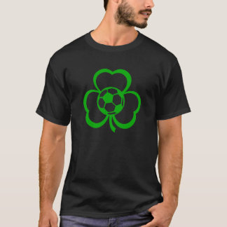 Three Leaf Clover Soccer Dark t-shirt