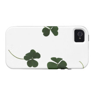 Three-leaf clover vibe iPhone 4 cases