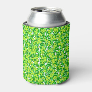 Three Leaf Clovers - Green Can Cooler