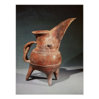 Three-legged 'Kuei' jug, from Weifang, Poster