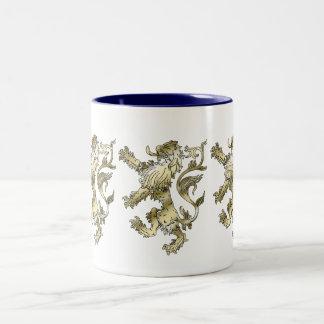 Three lions shaded gifts coffee mugs