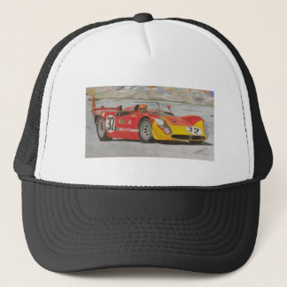Three Litres and Red Paint Trucker Hat