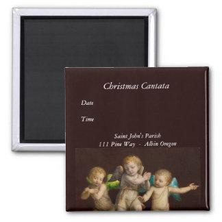 Three Little Cherubs or Angels Magnet