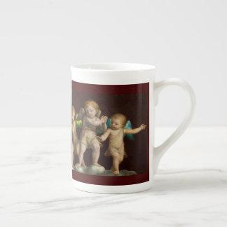 Three Little Cherubs or Angels Tea Cup