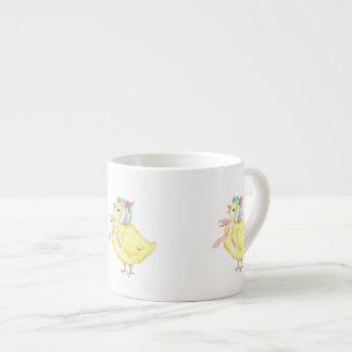 Three Little Chicks Espresso Mug