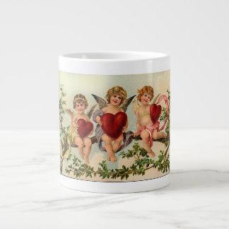 Three Little Cupids Jumbo Mug