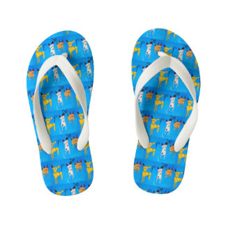 Three little dogs - Flip for Flops Kids Kid's Thongs