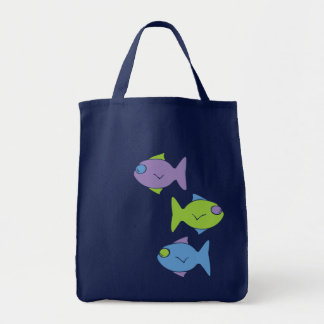 Three Little Fish Tote Bag