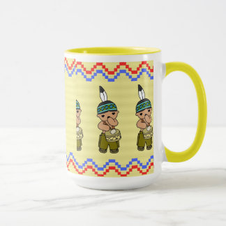 Three Little Indians - Mug - Yellow