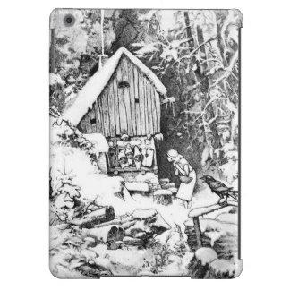 Three Little Men vintage ipad air case
