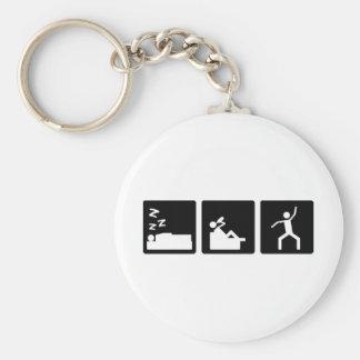 Three Little Pics - Men 4 Key Ring