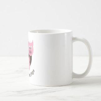 Three Little Pigs Basic White Mug