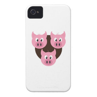 Three Little Pigs iPhone 4 Case-Mate Cases