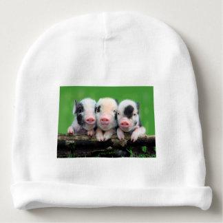 Three little pigs - cute pig - three pigs baby beanie