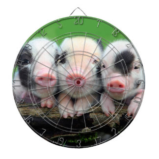 Three little pigs - cute pig - three pigs dartboard