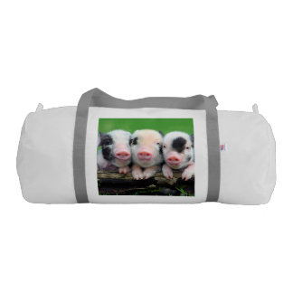 Three little pigs - cute pig - three pigs gym bag